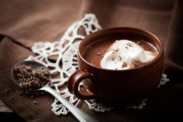 фото горячий шоколад