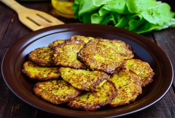 Кулинария оладьи из кабачков и картофеля