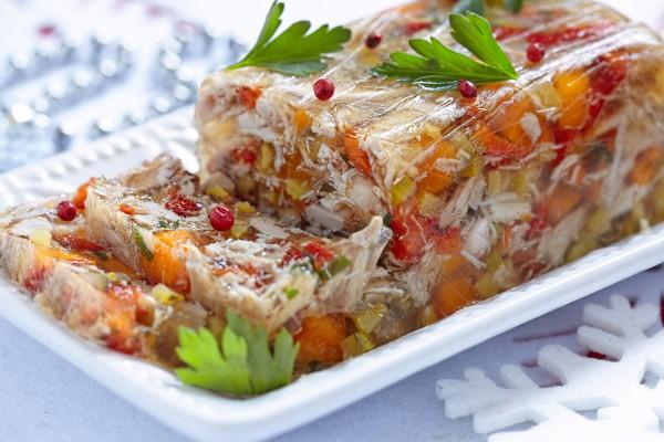 Рецепт                  Рецепты на Рождество: Куриный холодец