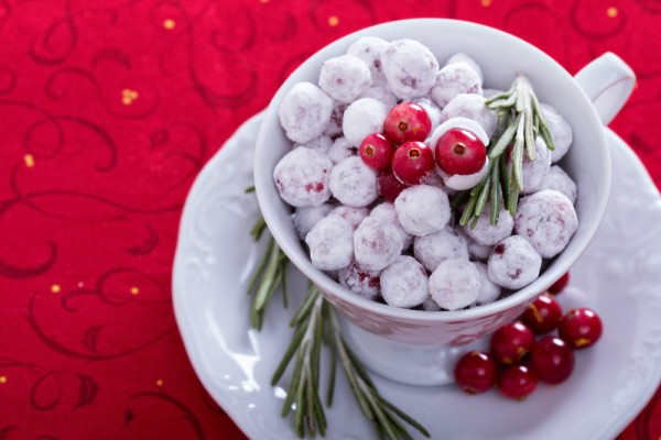 Рецепт клюква в сахаре