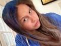 Дочь Кличко покрасила волосы в синий цвет