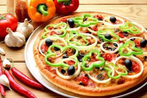 Вместо авокадо можно использовать в пицце сладкий перец