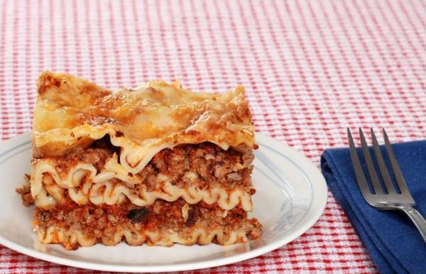 Рецепт                  Лазанья с мясной начинкой