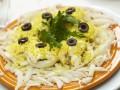 Как приготовить салат из креветок и кальмаров