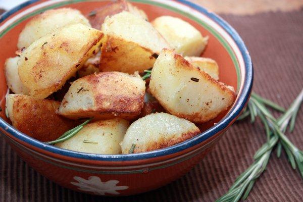 Рецепт                  Картофель с розмарином