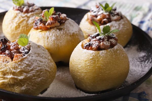 Печеные или запеченные яблоки