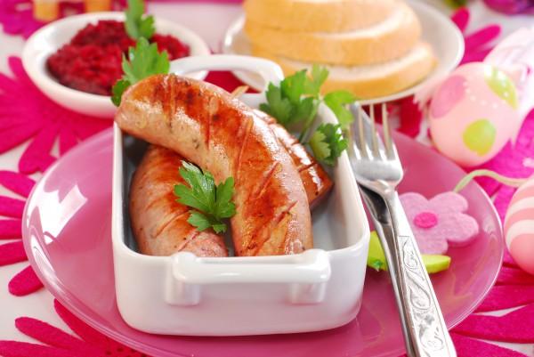 Рецепт                  Пасхальный рецепт: Домашняя колбаса с чесноком