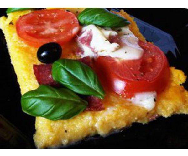 Рецепт                  Пицца-полента