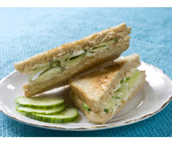 Рецепт                  Английский сэндвич с огурцом