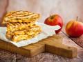 Горячие бутерброды с яблоками и сыром