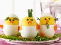 Как приготовить на Пасху фаршированные яйца в виде цыплят