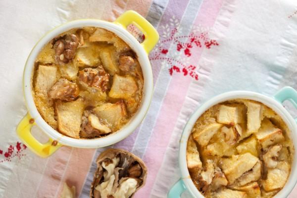 Рецепт                  Бургундская яблочная запеканка