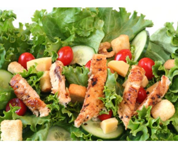 Рецепт                  Салат с курицей-гриль