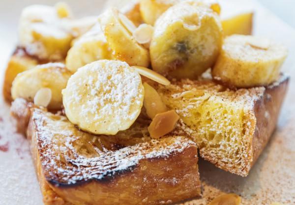Рецепт                  Французские тосты с бананами от Джейми Оливера