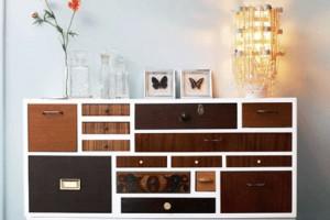 Не бойся сделать свой комодик выразительной деталью интерьера комнаты
