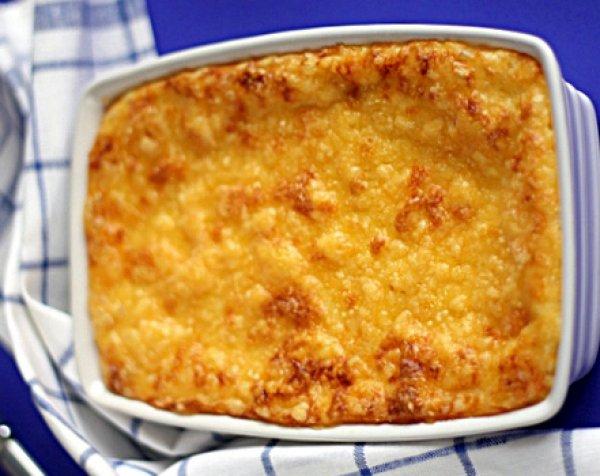 Рецепт                  Картофельно-мясная запеканка