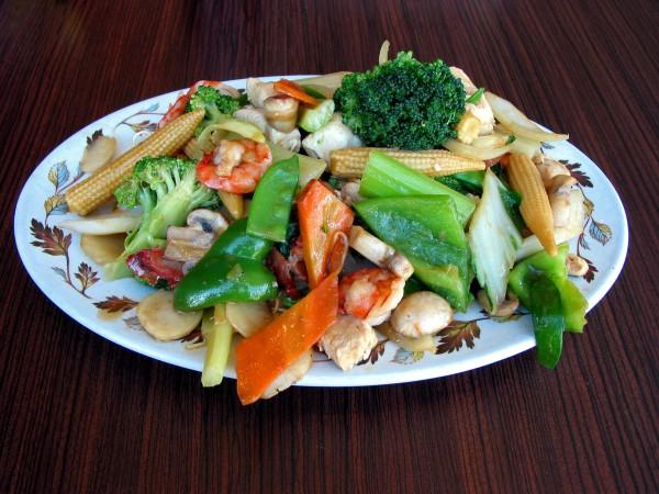 Рецепт                  Китайский Новый год 2015: Чоу мейн с креветками