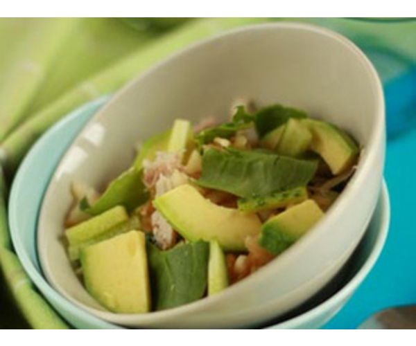 Рецепт                  Салат из авокадо с курицей