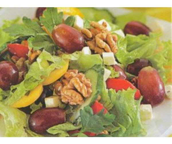Рецепт                  Салат из перца и винограда