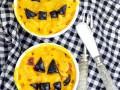 Макароны с сыром на Хэллоуин