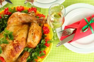 Запеченная индейка ко Дню Благодарения