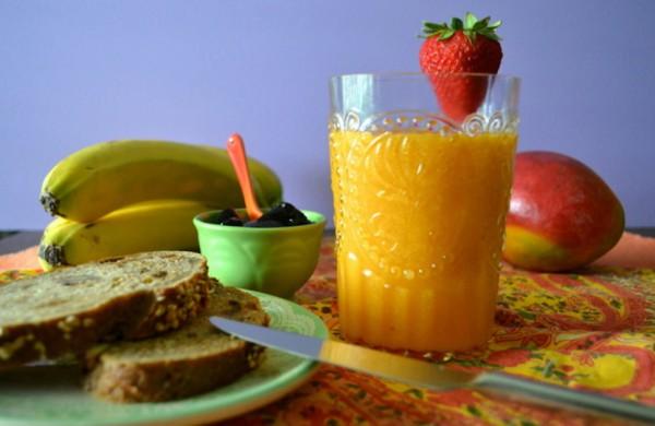 Рецепт                  Витаминный фруктовый коктейль