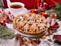 Рождественский яблочный пирог