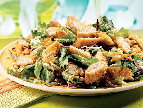 Рецепт                  ТОП-3 рецепта салата из курицы на Новый год
