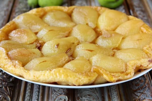 Рецепт                  Тарт татен с грушами