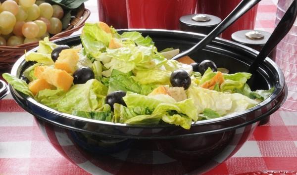 Рецепт                  Зеленый салат с соусом тартар
