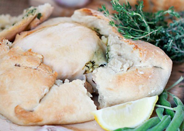 Рецепт                  Цыплята в тесте с пряными травами и лимоном