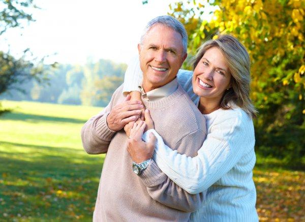 Счастливые супруги похожи друг на друга
