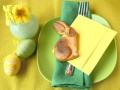 Пасхальная сервировка в зеленых тонах: ТОП-10 свежих идей