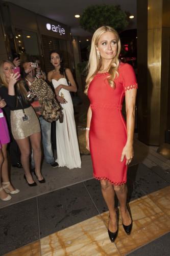 Ксения собчак в красном платье