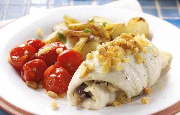Рецепт                  Рыба, фаршированная по-быстрому