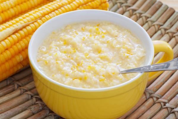 Рецепт                  Кукурузная каша на молоке