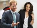 Принц Гарри и Меган Маркл были замечены в аэропорту Лондона
