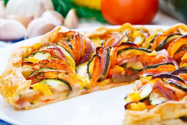 Рецепт                  Пирог-рататуй