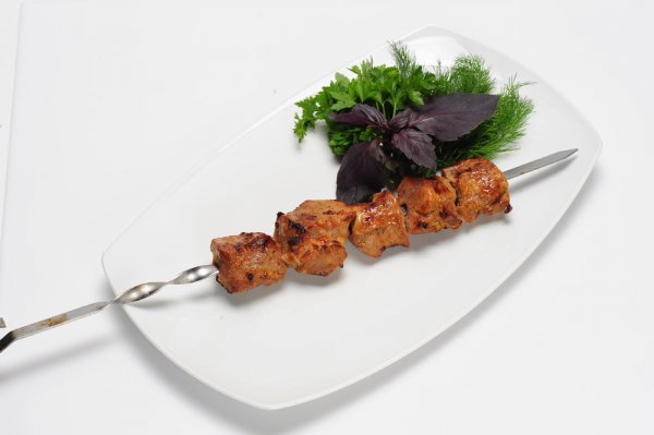 Рецепт                  Шашлык из свинины с гранатовыми зернами