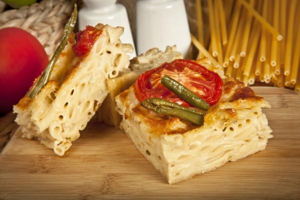 Рецепт                  Запеканка из макарон с тремя видами сыра