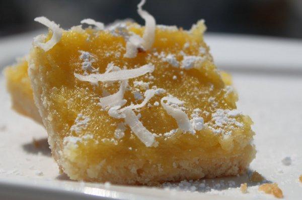 Рецепт                  Песочный пирог с лимоном и творогом