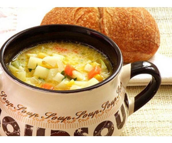 Рецепт                  Овощной суп с кореньями