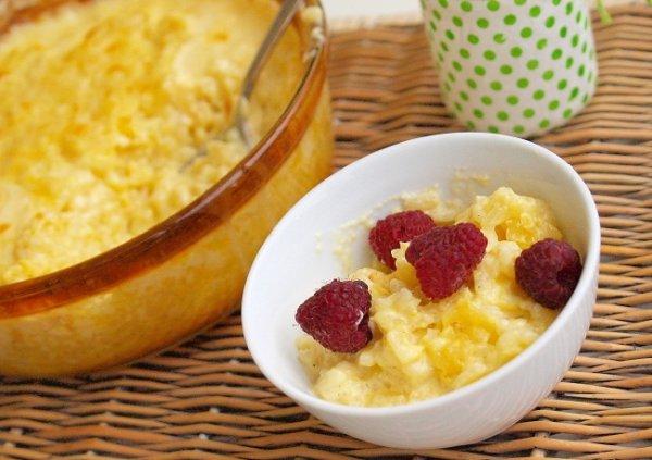 Рецепт                  Рисовый молочный пудинг с корицей