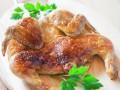 Цыпленок табака под чесночно-молочным соусом