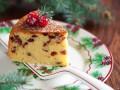 Рождественский кекс с клюквой в мультиварке