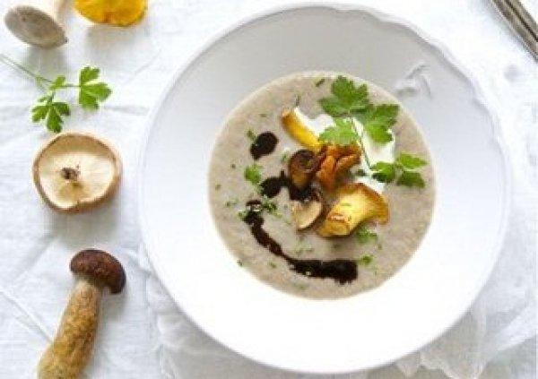Рецепт                  Суп из лесных грибов