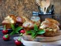 Маффины с зеленью, сыром и овощами