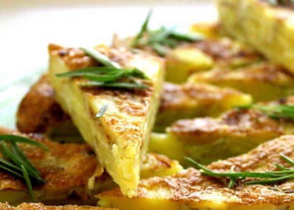 Рецепт                  Испанская картофельная тортилья