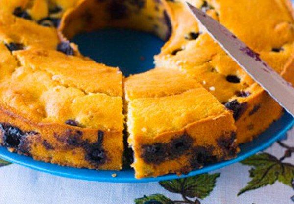 Рецепт                  Черничный кекс