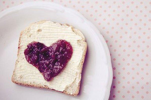 Рецепт                  Тост-валентинка